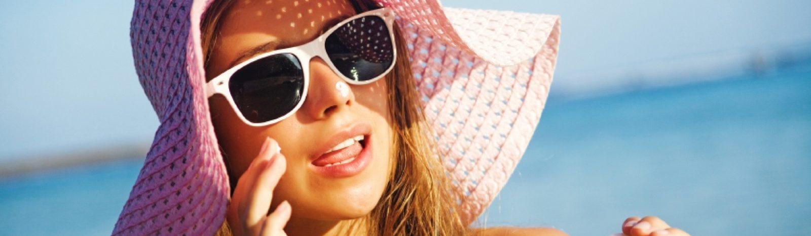 Haut-Sommerstress-erholen